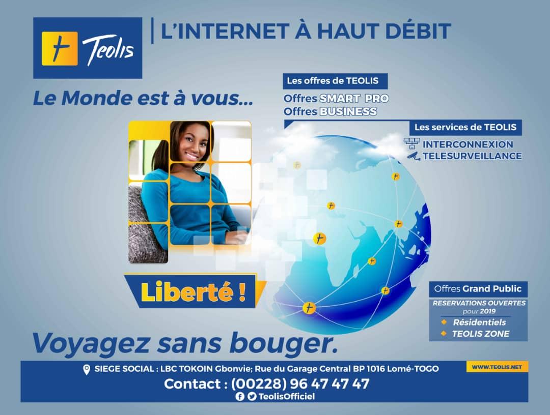 TEOLIS lance une campagne publicitaire à Lomé pour mieux informer la population sur ses offres et services